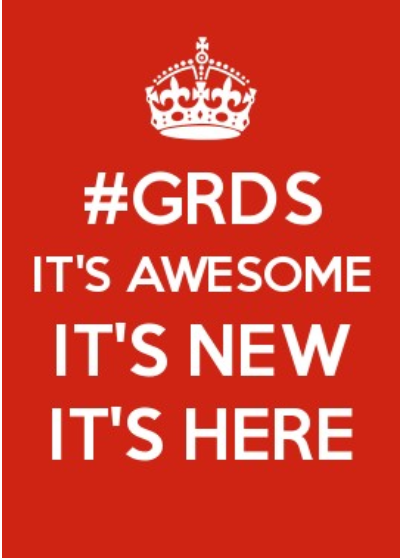 #GRDS it's here